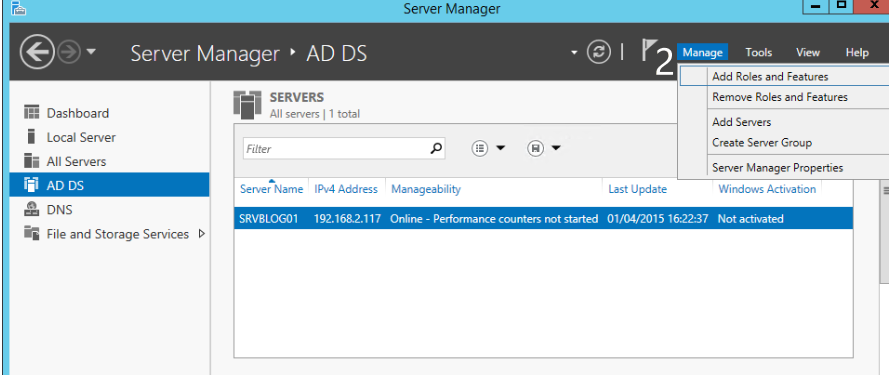 Installing Message Queuing Services on Windows Server 2016