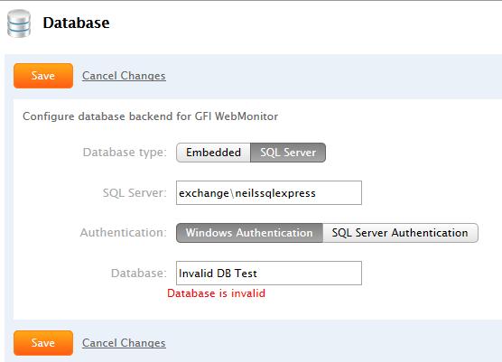 WebMon InvalidDB